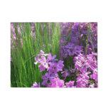 Pink Phlox and Grass Summer Flowers Doormat