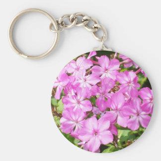 Pink Phlox Bouquet Keychain