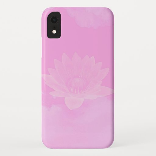 Pink phone case, iPhone XR Case