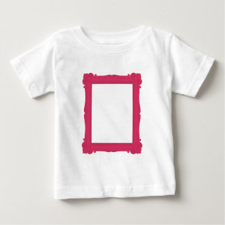 Pink Photograph Frame Baby Tee Shirt