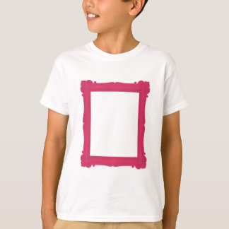 Pink Photograph Frame Kids Tee Shirt