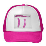 Pink pi girly ball cap nerd geek girls hat