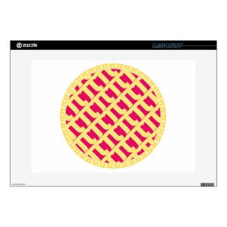 Pink Pi Lattice Pie | Raspberry Strawberry Skins For Laptops