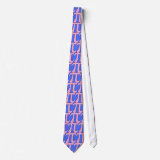 Pink Pi Neck Tie