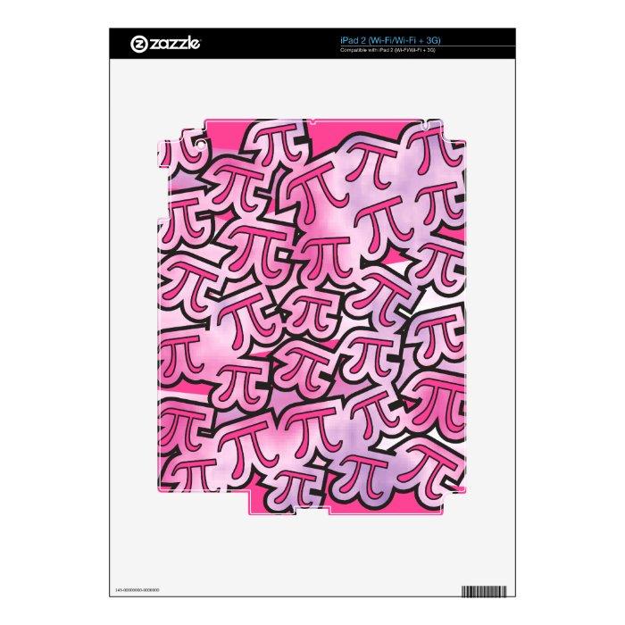 Pink Pi Social iPad 2 Decal