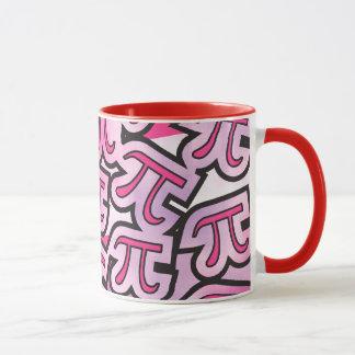 Pink Pi Social - Pi Day Gifts - Math Pi Mug
