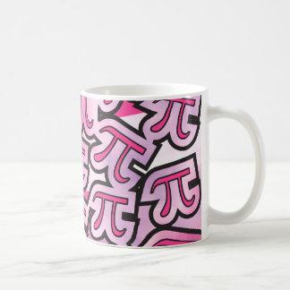 Pink Pi Social - Pi Gifts - Math Pi Symbols Mug