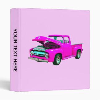 Pink pickup binder