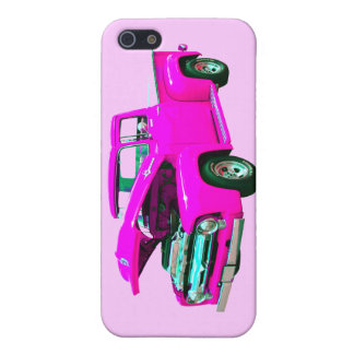 Pink pickup cover for iPhone SE/5/5s