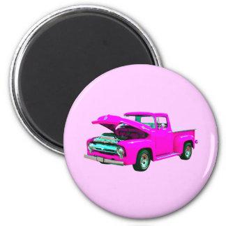 pink pickup magnet