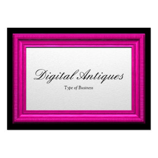 Pink Picture Frame Large Business Cards (Pack Of 100)