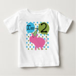 Pink Pig 2nd Birthday Infant T-shirt