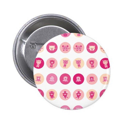 Pink Pig All Pins