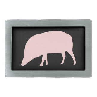 Pink Pig Belt Buckle