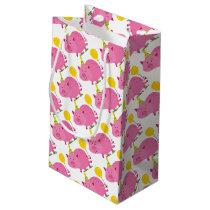Pink Pig Birthday Small Gift Bag