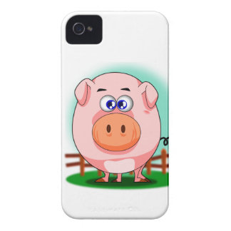 Pink Pig BlackBerry Bold Case