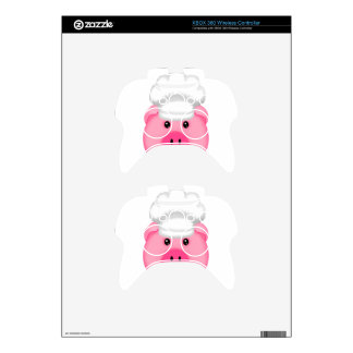 Pink Pig Chef Xbox 360 Controller Skins