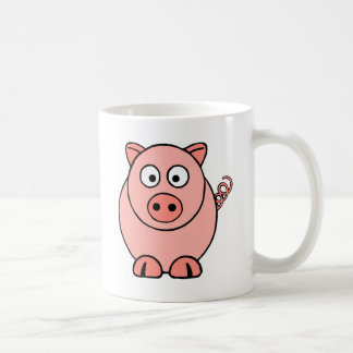 Pink Pig Coffee Mug
