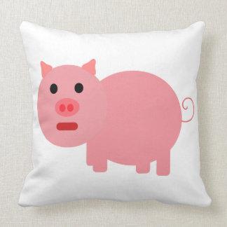 PINK PIG DESIGN Throw Pillow