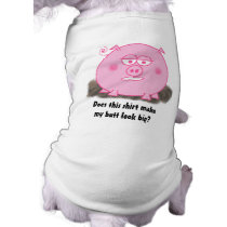Pink Pig Dog Shirt