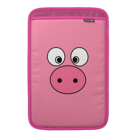 Pink Pig Face and Bum! MacBook Air Sleeve