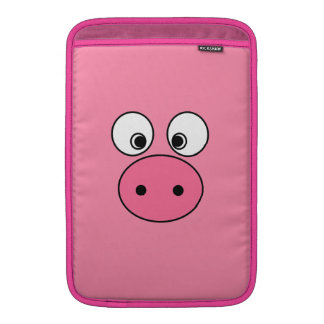 Pink Pig Face and Bum! Sleeve For MacBook Air
