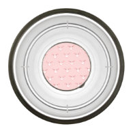 Pink Pig Face Repeating Pattern Pet Bowl