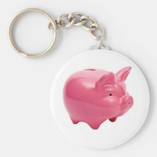 Pink Pig Key Chain