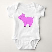 Pink Pig Kids & Baby Shirt