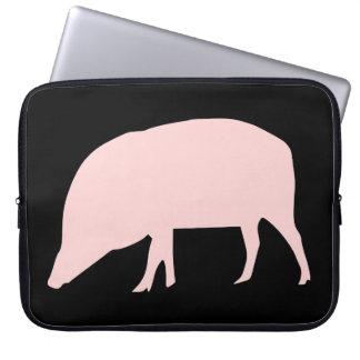 Pink Pig Laptop Bag