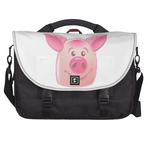 Pink Pig Bag For Laptop
