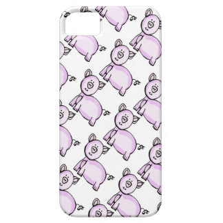 Pink pig parade iPhone SE/5/5s case