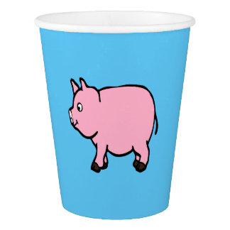 Pink Pig, Party cups