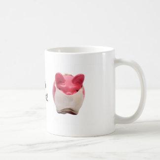 Pink Pig Sick Logo Mugs