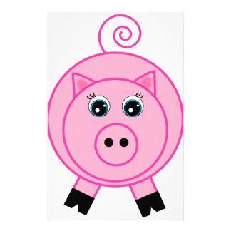 Pink Pig Stationery