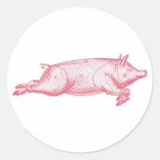 Pink Pig Sticker