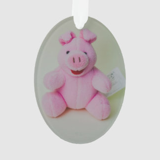 Pink pig toy ornament
