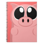 Pink Pig with Big Eyes! Journal