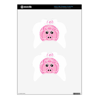 Pink Pig Xbox 360 Controller Decal