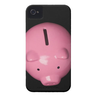 Pink piggy bank iPhone 4 Case-Mate cases