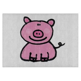 pink piggy cutting boards