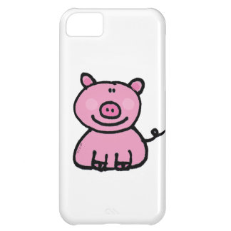 pink piggy iPhone 5C cover