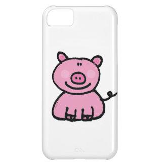 pink piggy iPhone 5C cover