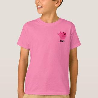 Pink Piggy Kids T-Shirt