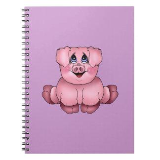 Pink Piggy Notebook