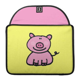 pink piggy sleeve for MacBook pro