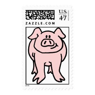 Pink Piggy Stamp