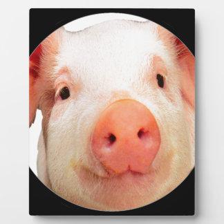 """""""Pink Piglet"""" Plaque"""