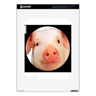 """Pink piglet"" iPad 3 Skins"