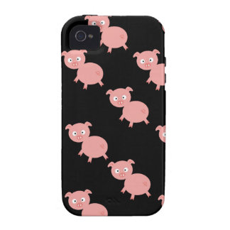 Pink Pigs iPhone 4 Vibe Case Vibe iPhone 4 Cases